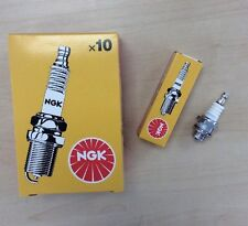 10 x NGK BMR6A SPARK PLUGS LAWNMOWER CHAINSAW TRACTOR GENERATOR with resistor