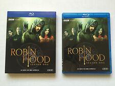 Robin Hood - Season 1 (Blu-ray Disc, 2008, 4-Disc Set) BBC Video with Slipcover
