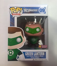 Funko POP! DC New 52 Green Lantern 09 Previews Exclusive RARE Mask Paint Error