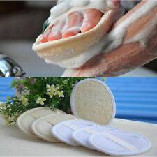 Natural Loofah luffa Bath Shower Exfoliating Strap Body Scrubber Brush Sponge