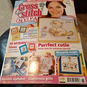 Cross Stitch Crazy Magazine May 2006 Vintage patterns book #85,  97 designs vgc