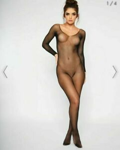 Ann Summers The Ambition Crotch less Body Stocking s/m - 3xl
