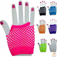Fishnet Fingerless Gloves for Women