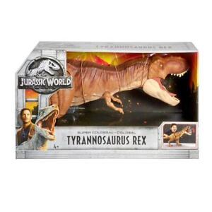 JURASSIC WORLD SUPER COLOSSAL TYRANNOSAURUS REX MAFMM63 from Tates Toyworld
