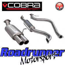 Cobra Sport Fiesta MK7 1.0T Ecoboost Zetec Exhaust System Cat Back Resonate FD72