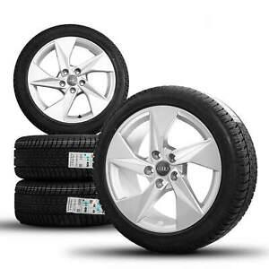 Audi 17 pouces jantes A3 8Y pneus hiver jantes hiver 8Y0601025A S line NOUVEAU