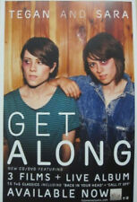 Tegan and Sara 2011 Get Along promotional poster Flawaless New Old Stock