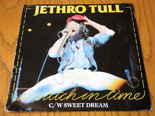 """JETHRO TULL - A STITCH IN TIME  7"""" WHITE VINYL PS"""