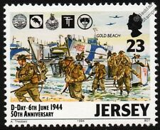 WWII D-DAY - GOLD BEACH 47 Commando Royal Marines & LCI(S) Landing Craft Stamp