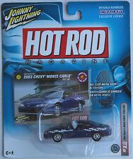 Johnny Lightning - ´03 / 2003 Chevy Monte Carlo blaumet. Neu/OVP