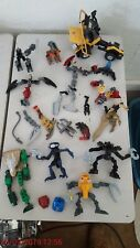 LEGO BIONICLE Figures with Miscellaneous Parts & Pieces & Hasbro Takara Jeep