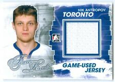 "NIK ANTROPOV ""BLUE GAME USED JERSEY CARD"" ITG FOREVER RIVALS"