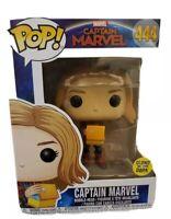 Funko Pop Marvel Captain Marvel Holding Lunchbox # 444 w/protector New