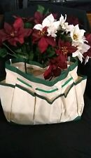 GARDEN TOOLS Storage bag(items inside not included)with two free garden tools
