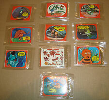 APE MAIA STICKERS 10 BUSTINE SIGILLATE 30 ADESIVI EDIERRE 1980 みつばちマーヤの冒険