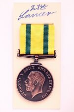WW1 GEORGE V MILITARY TERRITORIAL FORCE WAR MEDAL VOLUNTARY SERVICE OVERSEAS &BO