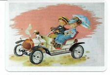 G-35 swap playing card MINT cond RETRO STYLE COUPLE DRIVING A CAR