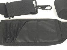 Padded Shoulder Strap for Alienware Laptop Messenger Bag - Black