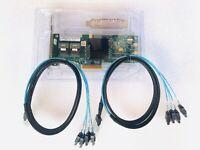LSI 9240-8i 8-port SAS SATA Server RAID Controller Card 2*SFF-8087 SATA cables