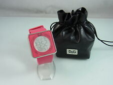 DOLCE GABBANA XL TOUCH DIGITALUHR HIGH CONTACT PINK DW0737 DAMENUHR