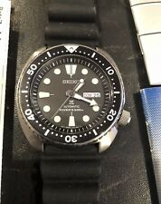 SEIKO PROSPEX TURTLE SRP777 Diver Watch Black Dial