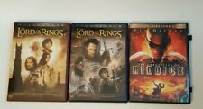 Chronicles of Riddick Lord of Rings Return of King Lord of the Rings 2 Towers
