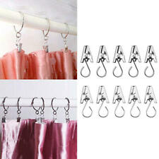 100 Pcs Stainless Steel Curtain Clips With Hook for Curtain Photos Home Decor