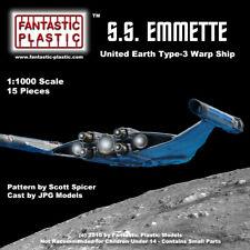 """UESS Emmette from """"Star Trek-Enterprise"""" - 1:1000 scale resin kit"""