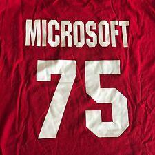 Microsoft 75 Boston Red Sox T Shirt L Mens Majestic Baseball Promotional Game
