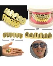 Self-fit gold 24k Plated Hiphop Grillz