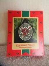 Christmas Treats - Candy Canes Stained Glass - Hallmark Keepsake Ornament - 1985