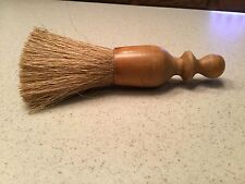 """Vintage Grooming Clothing Furniture Brush Wood Handle 8"""" long Used"""