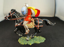 Elastolin n° 8867 Lanzenreiter mit Schild cavalier soldat Moyen âge chevalier