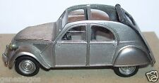 RARE à trouver VITESSE MADE IN PORTUGAL CITROEN 2CV GRISE METAL 1/43 occasion