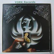 HANK WILLIAMS JR - Man Of Steel - Ex Con LP Record