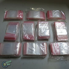 "1000 Zip Lock ZipLock Plastic Seal Bag 50x50mm 2x2"" resealable clip magic"
