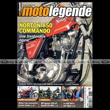 MOTO LEGENDE N°183 NORTON 850 COMMANDO MV AGUSTA 350 500 SUZUKI ROCA YAMAHA RDLC