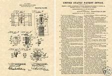 1920 LUDWIG PIONEER SNARE DRUM Patent Art Print READY TO FRAME