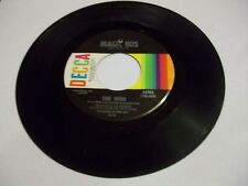 The Who Someone's Coming/Magic Bus 45 RPM