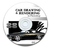 Car Drawing & Rendering in Photoshop - Tutorial DVD ROM