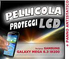 Film protection LCD pour SAMSUNG GALAXY MEGA 6.3 i9200 + TISSU ANTISTATIQUE