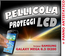 Film protection LCD pour SAMSUNG GALAXY MEGA 6.3 i9200 + TISSU ANTISTATIQUE