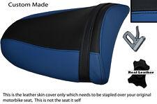 ROYAL BLUE & BLACK 03-04 CUSTOM FITS KAWASAKI NINJA ZX6R PILLION SEAT COVER