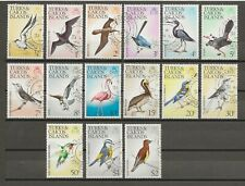 More details for turks & caicos islands 1973 sg 381/95 used cat £22