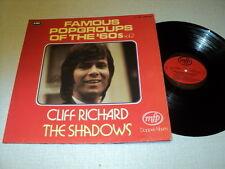 CLIFF RICHARD DOUBLE LP UK FAMOUS POP GROUP SHADOWS