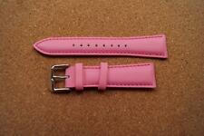 SEXY PINK PLAYBOY WATCH STRAP 20MM WITH SILVER BUCKLE