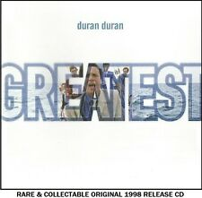 Duran Duran - The Very Best Greatest Hits Collection - RARE 1998 CD 80's Pop