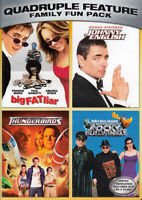 BIG FAT LIAR/JOHNNY ENGLISH/THUNDERBIRDS/THE ADVENTURES OF ROCKY AND BULLW (DVD)