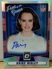2016 Donruss Optic Daisy Ridley (Star Wars) Fans of the Game Auto #3/5
