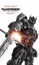 Transformers: The Last Knight Movie Poster (24x36) - Optimus Prime, Megatron v14